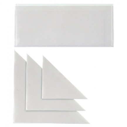 25313 - 10 Buste Adesive Tasca Tr 13 Triangolare 13x13Cm -