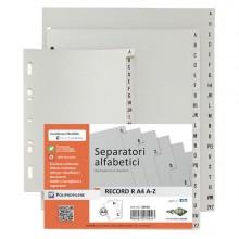 Separatore Alfabetico A-Z 21x29,7 Record Ra4A-Z Sei Rota