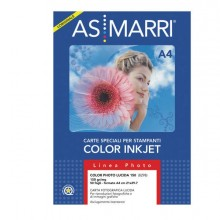 28601 - Carta Inkjet A4 170gr 50fg Color graphic Photo 8098 As Marri -