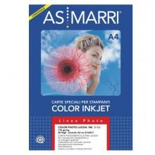 28620 - Carta Inkjet A4 180gr 50fg Color Photo Lucida 08103 Marri -