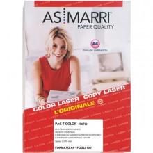28799 - Poliestere Laser A4 Adesivo Trasparente Permanente 100fg Marri -