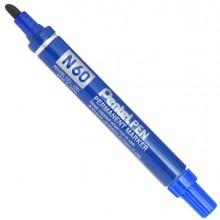 Marcatore Pentel Pen N60 Blu P.Scalpello