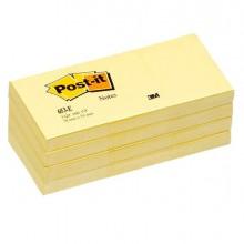32030 - Blocco 100Fg Post-It Giallo Canary 38X51Mm 653 10574 - CONF.12 -