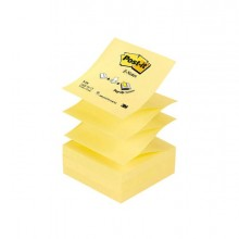 32056 - Blocco 100Fg Post-It Z-Notes R330 Giallo Canary 76X76Mm 33320 - CONF.12 -