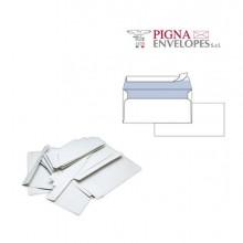 32073 - 25 Buste Bianche 110x230mm S/Finestra 90gr Silver 90 Strip -