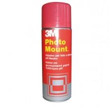 32324 - Adesivo Spray 3M Photo Mount Alta Qualita' - Trasparente 400Ml -