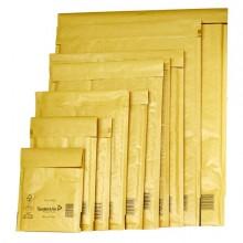 33107 - 10 Buste Imbottite Gold Cd 18x16Cm Utile Avana -