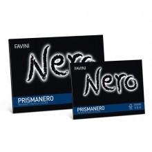 34937 - Album Prismanero 10Fg 128Gr 240X330Mm Monoruvido Favini A12A244 - CONF.20 -