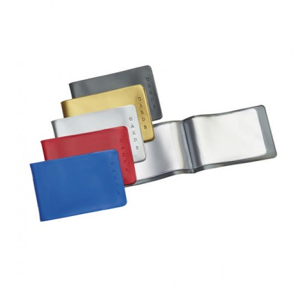 36283 - Busta Porta Cards 8,5X5,4 02/7440 Pvc Col.Assortiti Favorit Pvc 100460170 - CONF.25 -