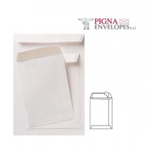 36984 - 100 Buste A Sacco Bianche 230x330mm 80gr Adesiva Competitor Pigna -
