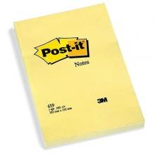 38515 - Blocco 100Fg Post-It Giallo Canary 102X152Mm 659 94293 - CONF.6 -