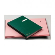 39011 - Libro Firma 14 Pagine Verde 24x34Cm 614-E Fraschini -