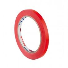 Nastro adesivo 9mm x 66m Rosso PVC 350 per sigillatura Eurocel - CONF. 16 pz
