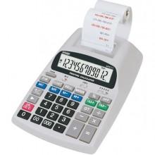 45436 - Calcolatrice Da Tavolo Scrivente Aurora Npr711 12Cifre -