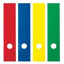 45801 - Busta 10 Copridorso Cdr-P Pvc Adesivi Giallo 7x34,5Cm Sei Rota -