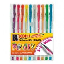 45943 - Astuccio 10 Roller Koh-I-Gel Colori Fruit -