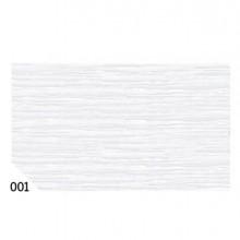 46548 - 10Rt Carta Crespa Bianco 001 (50x250Cm) gr.60 Sadoch -