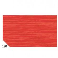 46552 - 10Rt Carta Crespa Rosso 120 (50x250Cm) gr.60 Sadoch -