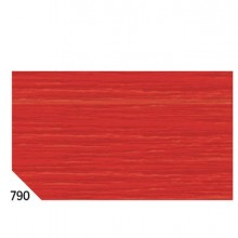 46553 - 10Rt Carta Crespa Rosso Ciliegia 790 (50x250Cm) gr.60 Sadoch -
