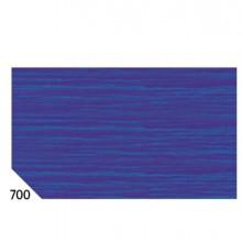 46558 - 10Rt Carta Crespa Blu 700 (50x250Cm) gr.60 Sadoch -