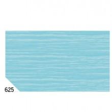 46560 - 10Rt Carta Crespa Azzurro 625 (50x250Cm) gr.60 Sadoch -