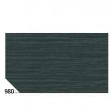 46565 - 10Rt Carta Crespa Nero 980 (50x250Cm) gr.60 Sadoch -