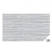 46566 - 10Rt Carta Crespa Argento Metal 131 (50x150Cm) Sadoch -