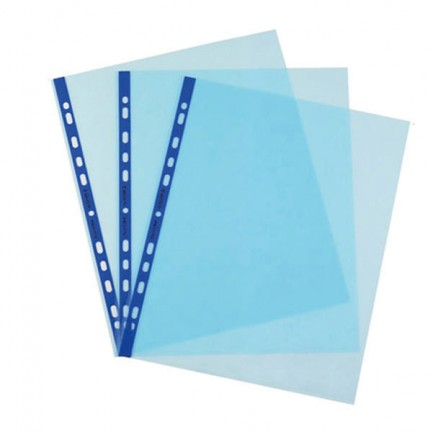 47969 - 25 Buste Forate Pstel 22x30 Azzurro Liscio Favorit -