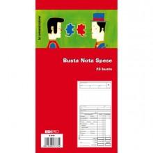 50263 - Blocco 25 Buste Nota Spese 28x15Cm E5777 Edipro -