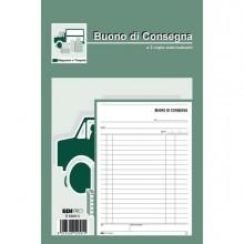 50281 - Blocco Buoni Di Consegna 50/50 23x15Cm Ric E5209C -