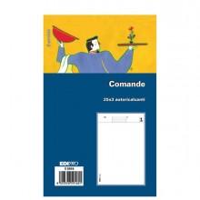 50284 - Blocco Comande 25/25/25 Fogli Autoric. 17X9,9 E5916 E5916 - CONF.20 -
