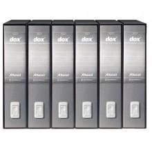 Registratore Dox 2 grigio Chiaro Dorso 8Cm F.To Protocollo Esselte