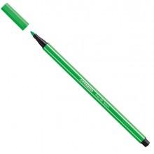 Pennarello Stabilo Pen 68/033 Verde Fluo - CONF.10