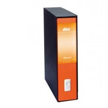 Registratore Dox 2 Arancio Dorso 8Cm F.To Protocollo Esselte