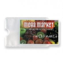 5 Buste Porta Card 1P Trasp. 1 Tasca 5,8x8,7Cm