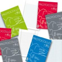 54918 - Protocollo A4 5mm 200fg 80gr Pigna -