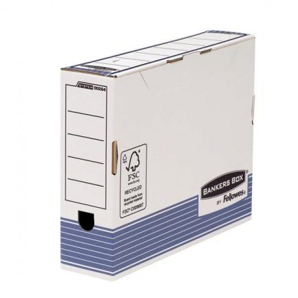 56582 - Scatola Archivio A4 Dorso 80Mm Bankers Box System 0026401 - CONF.10 -