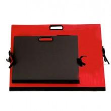 56901 - Cartella Portadisegni con Maniglia 70x50Cm Rosso Brefiocart -