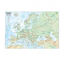 56944 - Carta Geografica Scolastica Plastificata Europa 297X420Mm Belletti BS03P - CONF.20 -