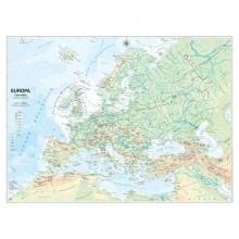 56947 - Carta Geografica Scolastica Murale Europa Belletti -