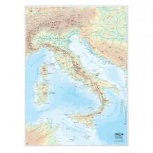 56948 - Carta Geografica Scolastica Murale Italia Belletti -
