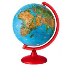 56953 - Globo Geografico Illuminato Zoo Globe diam. 26Cm Novarico -