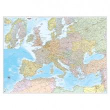 57415 - Carta Geografica Murale Europa 132x99Cm Belletti -