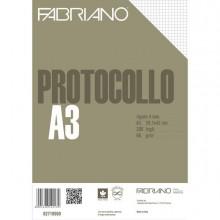 58727 - Protocollo A4 4mm 200fg 60gr Fabriano -