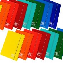 59562 - Cartella 3L C/Elastico 26X35Cm One Color 2390 Blasetti 2390 - CONF.10 -