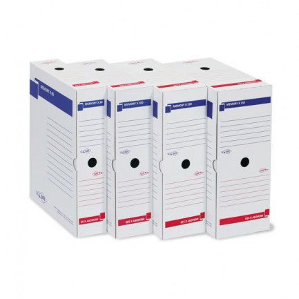 61530 - Scatola Archivio Memory X 150 25X35 Dorso 15Cm 673215 - CONF.10 -