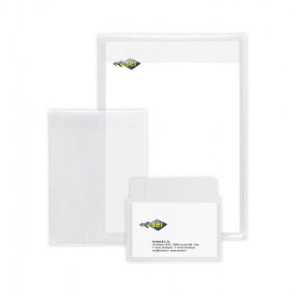 61651 - 25 Buste A Sacco Pp Soft P 220x300mm con Patella Sei Rota -