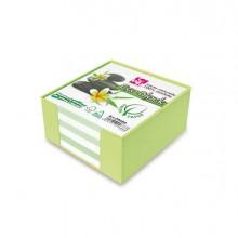 Box Colorato con Foglietti Carta 100 Riciclata 10x10x5Cm Cwr