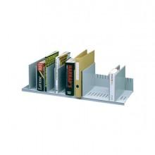 61937 - Portariviste A 10 Separatori Mobili grigio 80,2x27,5x21Cm Paperflow -