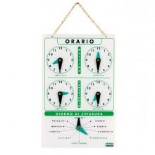 63695 - Cartello Orario In Acrilico Art.4506 -